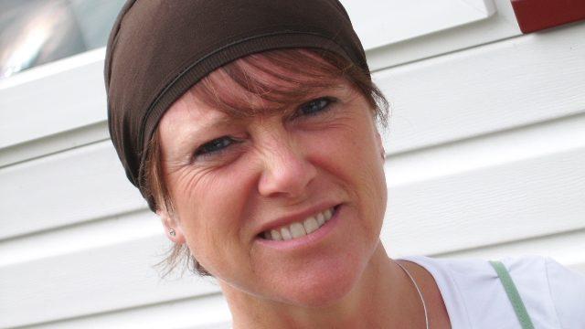 Caty Lhommel, formée à l'école d'hippothérapie anteanthesis à Malonne – Namur