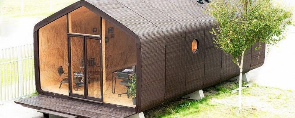 Wikkelhouse, la maison 100% en carton, 100% écologique
