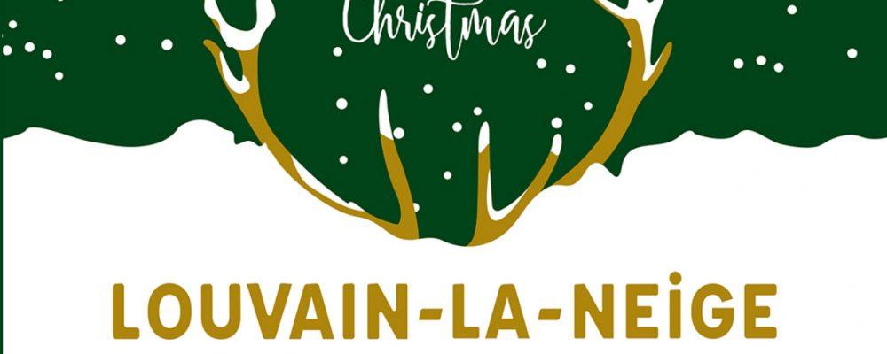 Ouverture du Marché de Noël de Louvain-La-Neuve