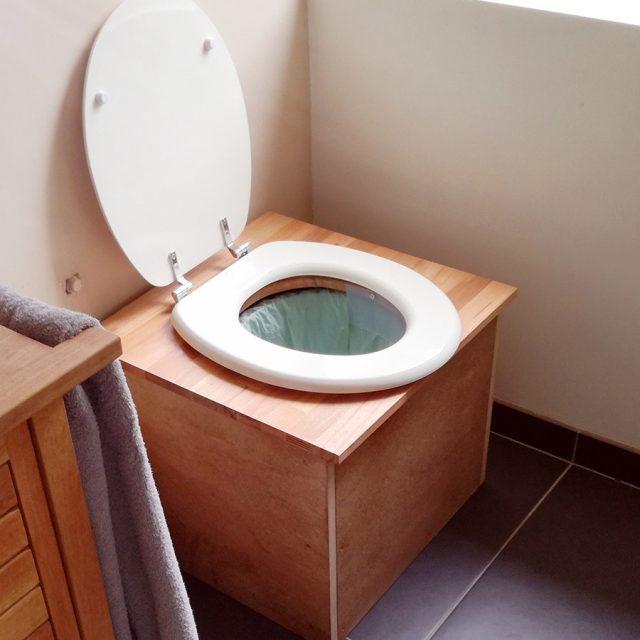 WC-bio : la toilette sèche en bois
