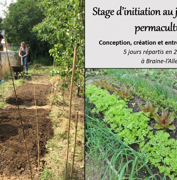 Stage d'inititation au potager permaculture à Braine-l'Alleud