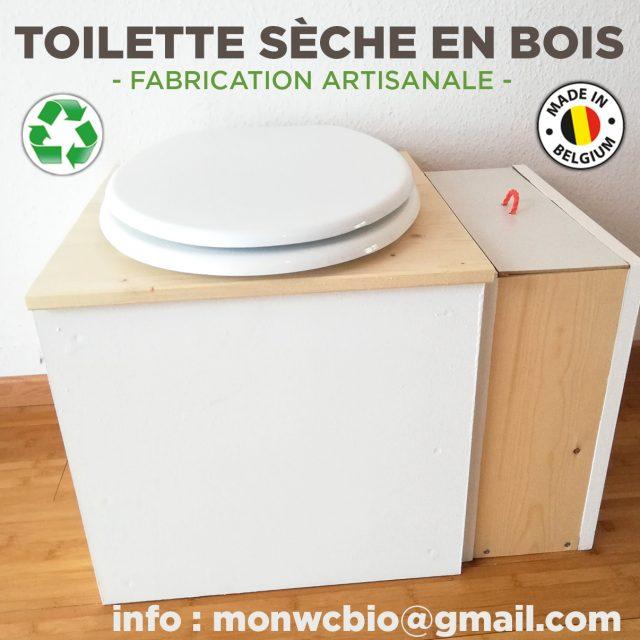 Toilette sèche en bois made in Belgium – Ecologique, économique.