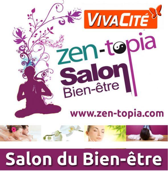 Zen-Topia Salon du bien-être à Namur du samedi 10 au dimanche 11 mars