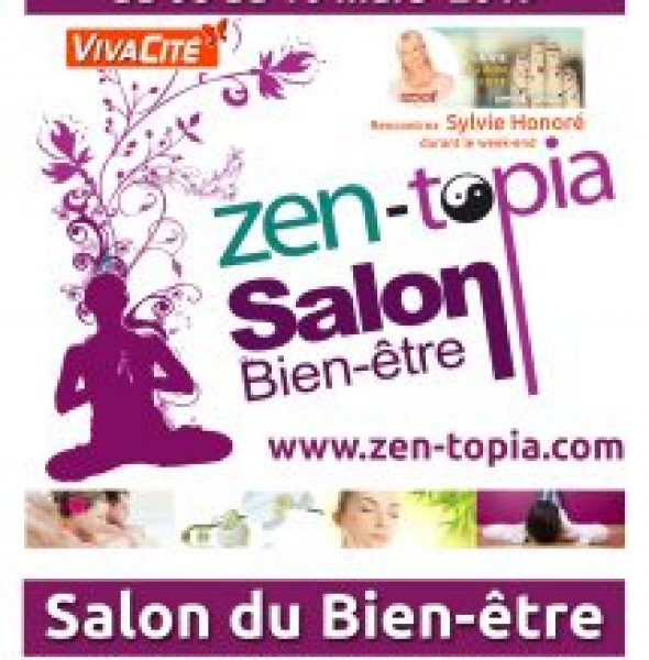 Salon Zen-topia du 3 au 5 mai 2019 à NAMUR EXPO