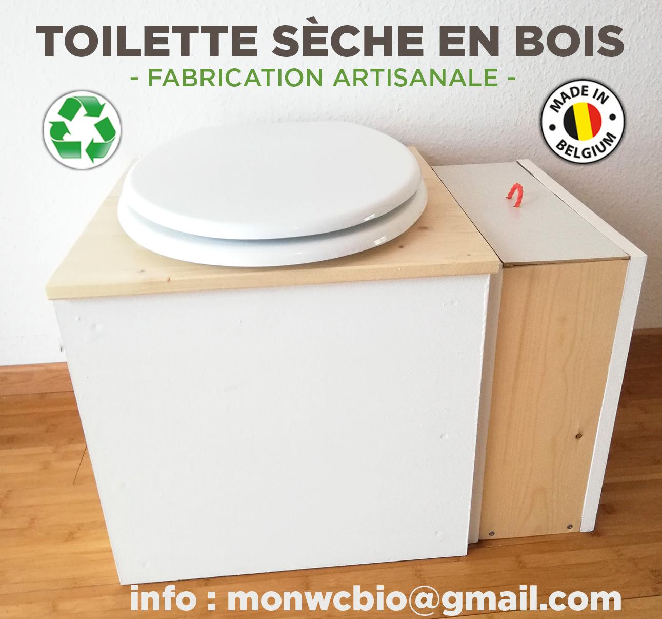 Toilette sèche en bois made in Belgium - Ecologique, économique.